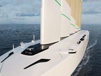 Oceanbird, un cargo à l'énergie éolienne